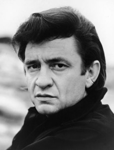 Headshot Portrait Of Johnny Cash