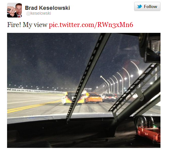 Daytona-500-Brad Keselowski-Tweet