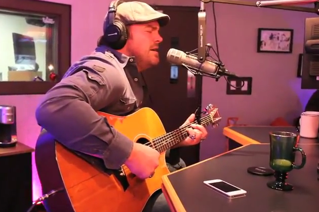 Lee Brice in Studio