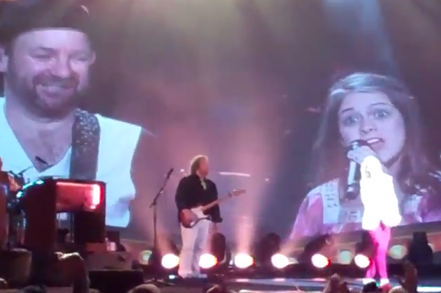 Alana Springsteen Sings with with Sugarland