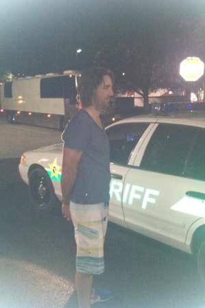 Jake Owen in Handcuffs