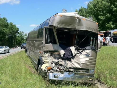 bucky covington bus crash