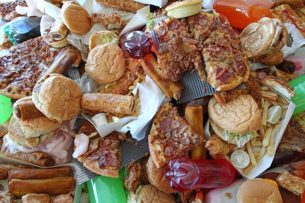 Fast Food Pile