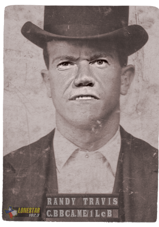 Randy Travis Old Mugshot