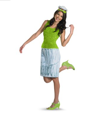 Sexy Grouch costume