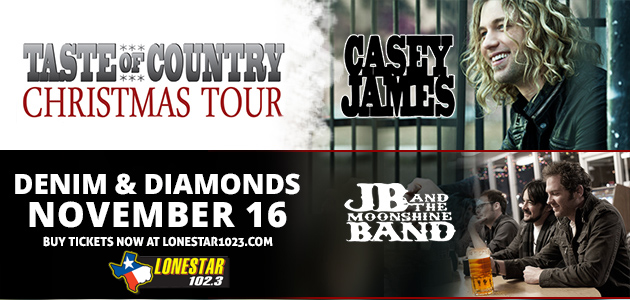 Casey James in Wichita Falls