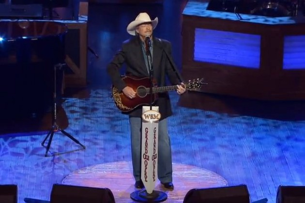Alan Jackson sings 'He Stopped Loving Her Today' George Jones Funeral