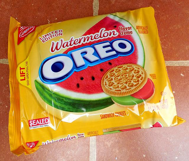 watermelon flavored oreos