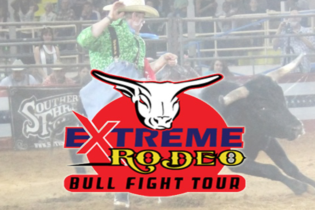 Extrme Rodeo Bullfights Tour - Wichita Falls, Texas