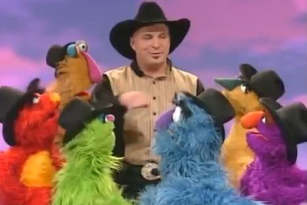 Garth Brooks on Sesame Street