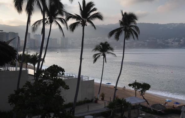 Beach In Acapulco