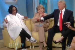 Whoopi Goldberg, Donald Trump Fight Over Barack Obama's Birth Certificate [VIDEO]
