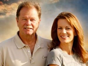 Gary and Diane Heavin, founders of 'Curves' and the latest 'Secret Millionaires'