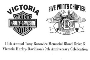 14th Annual Tony Borowicz Memorial Blood Drive This Saturday