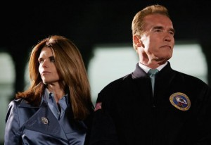 Maria Shriver and Arnold Schwarzenegger