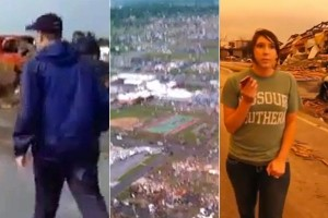 First-Person Tornado Videos From Joplin, MO