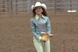 Outbreak of Horse Herpes Forces Rodeo Queens to Ride Stick Ponies
