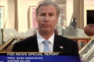 Will Ferrell Spoofs President Bush, bin Laden Death for Funny or Die [VIDEO]
