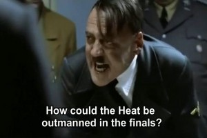 Hitler Reacts to Miami Heat's NBA Championship Loss