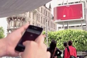 McDonalds Billboard Hosts Giant Game of Pong