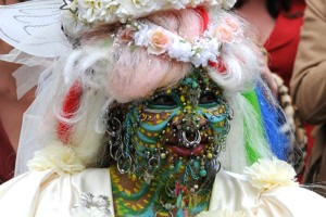 World's Most Pierced Woman Gets Married