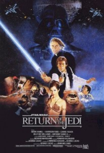 Return Of The Jedi Poster 1983