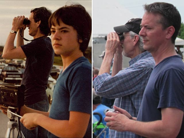 Father and Son Take Photos at the First and Last Space Shuttle Launch [PHOTO]