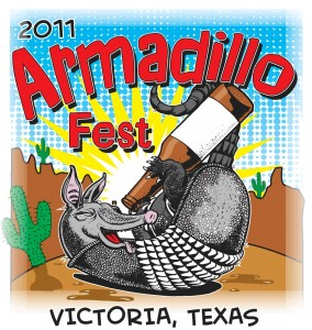 Armadillo Fest will begin at noon on Saturday, September 3rd