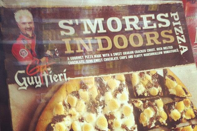 guy fieri s'mores pizza