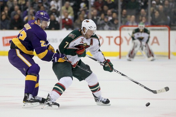 Minnesota Wild vs. Los Angeles, Feb. 24, 2011