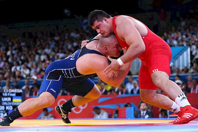 Wrestling from the London Olympic Games