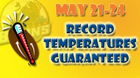 Record Temp Guarantee Buffalo Bisons