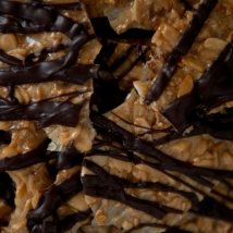 Dark Chocolate Brittle