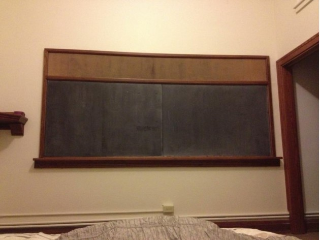 Bedroom Chalkboard