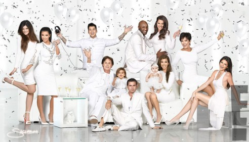 The Kardashian Christmas Card