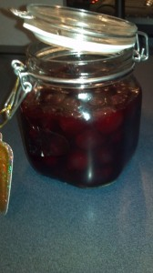 brandy cherries