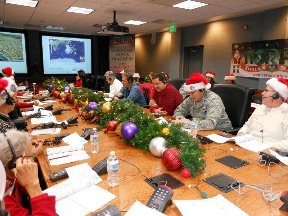 NORAD Santa Call Center