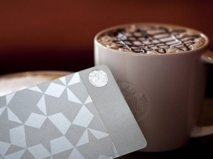 Starbucks Steel Card