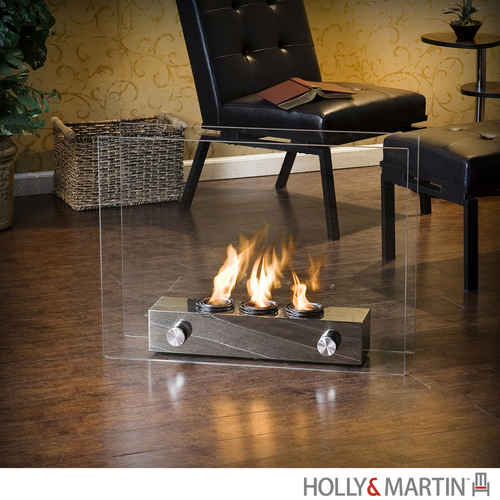 Holly & Martin Indoor/Outdoor Fireplace