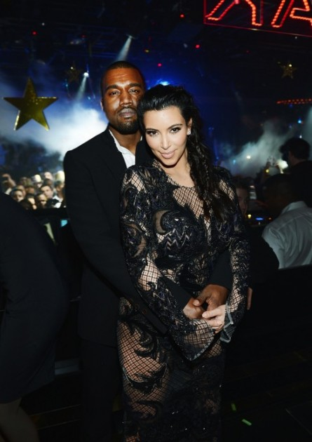 Kim and Kanye- NYE 2012