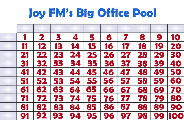 Joy FM's Big Office Pool
