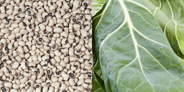 Black Eyed Peas &amp; Collard Greens