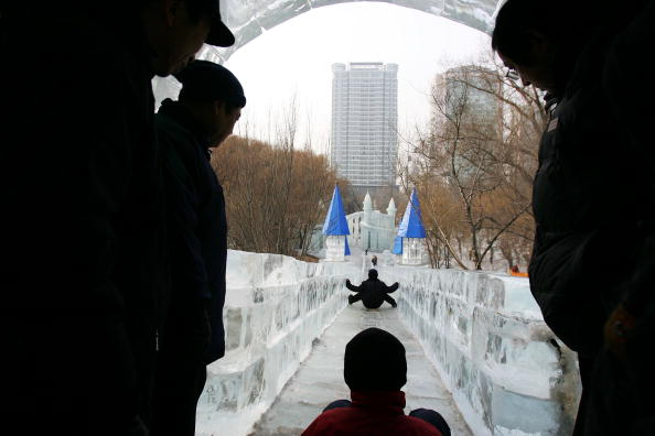 Ice Slide (Getty)