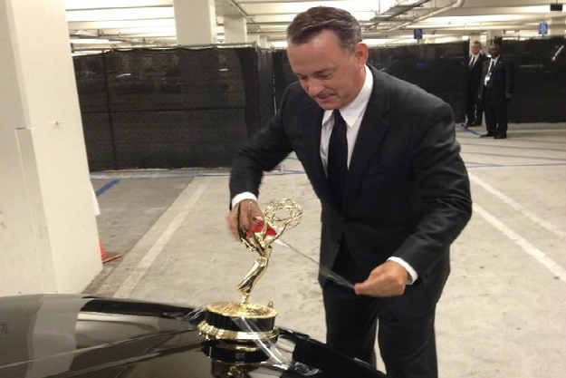 Tom Hanks Emmy Taping