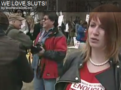 We love sluts