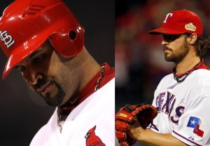 albert pujols and cj wilson