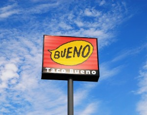 taco bueno sign
