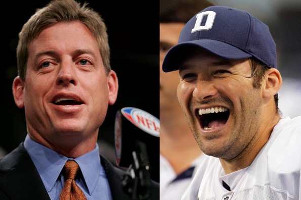 troy aikman and tony romo