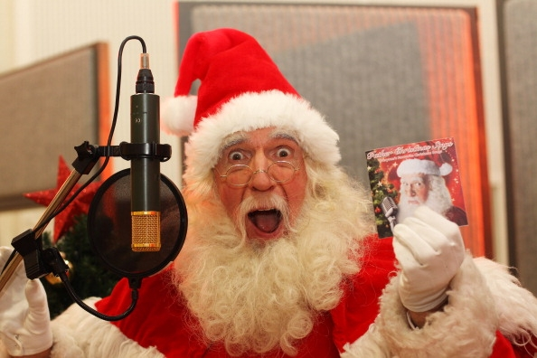 Santa In The Studio