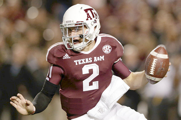 Heisman winner Johnny Manziel leads Texas A&M into the Cotton Bowl.